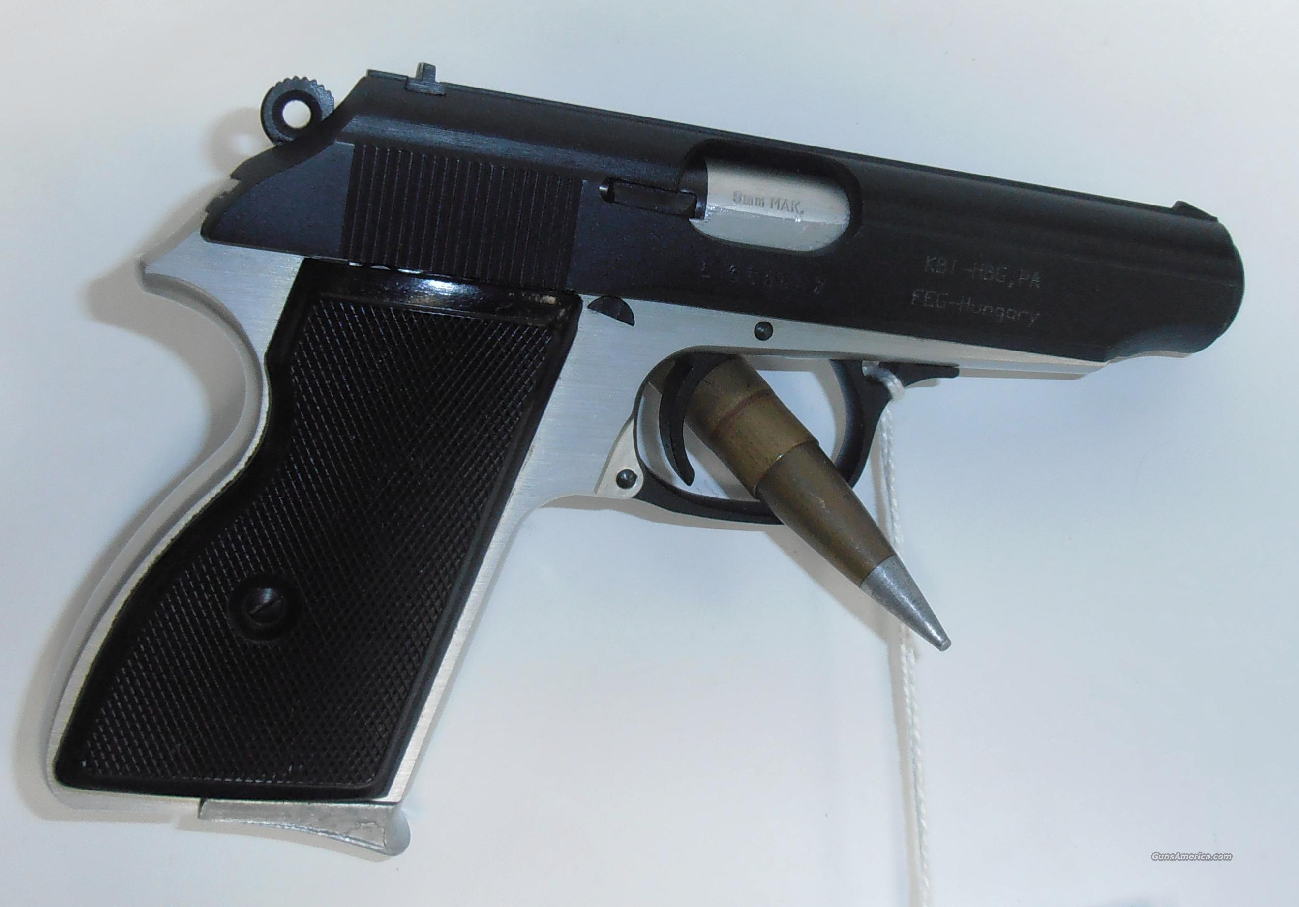 KBI FEG Makarov 9X18 - Made in Hungry - Very Good Condition  Guns > Pistols > KBI/FEG Pistols