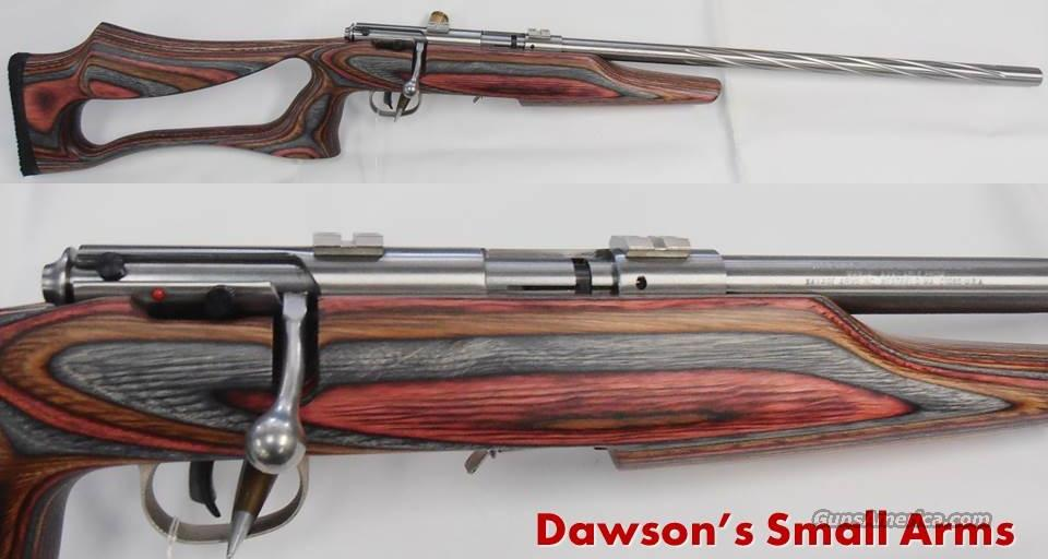 SAVAGE 93 BSEU .22Mag Laminated Stock and SS FLutes Bull Barrel  Guns > Rifles > Savage Rifles > Accutrigger Models > Sporting