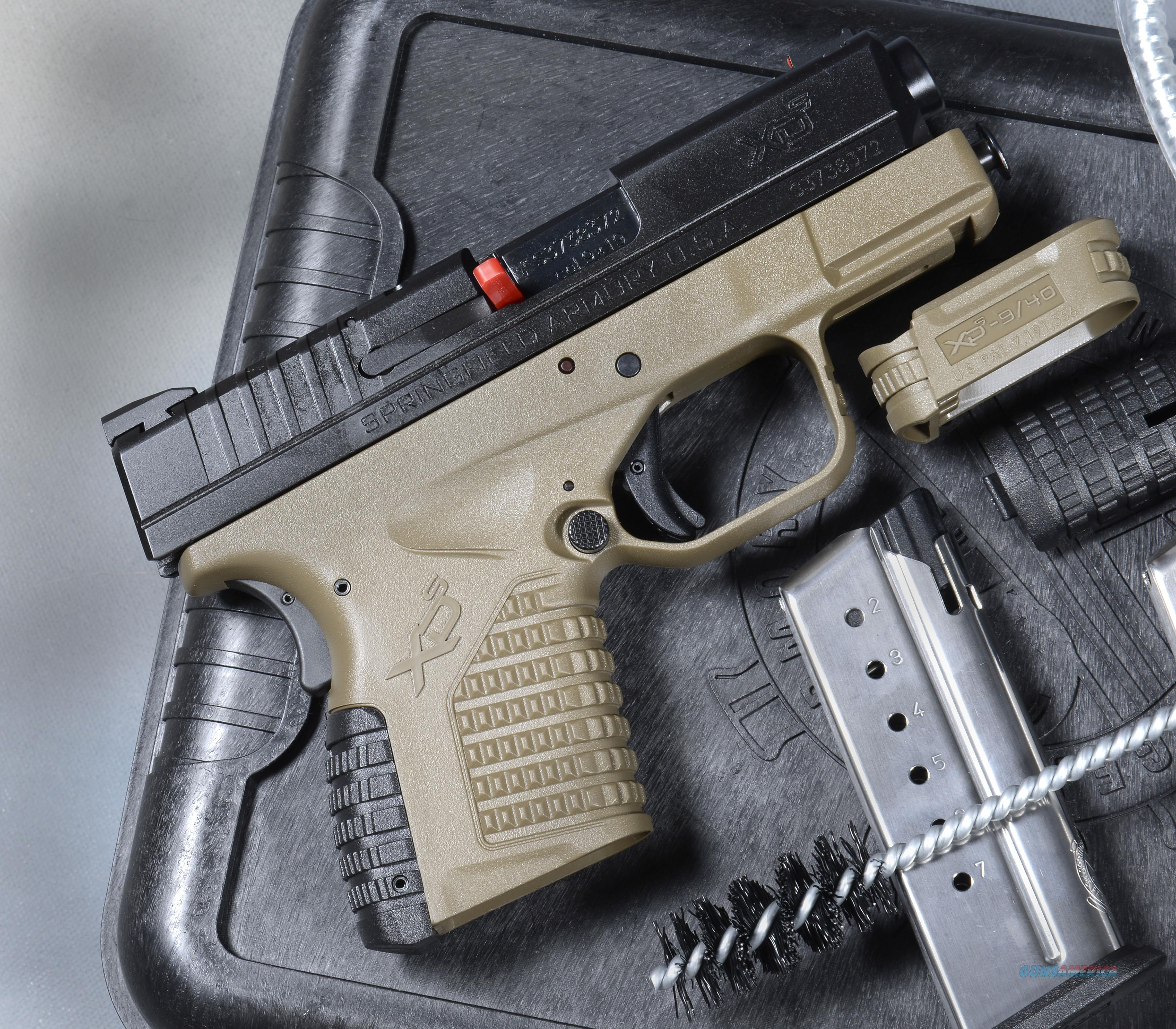 "Springfield Armory XD-S 9mm FDE Essentials Kit 3.3"" NIB XDS  Guns > Pistols > Springfield Armory Pistols > XD-S"