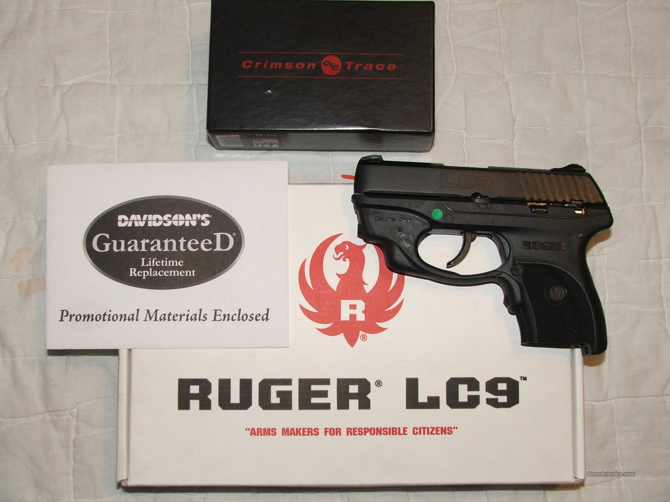 Ruger LC9 w/ct Laserguard  Guns > Pistols > Ruger Semi-Auto Pistols > LCP