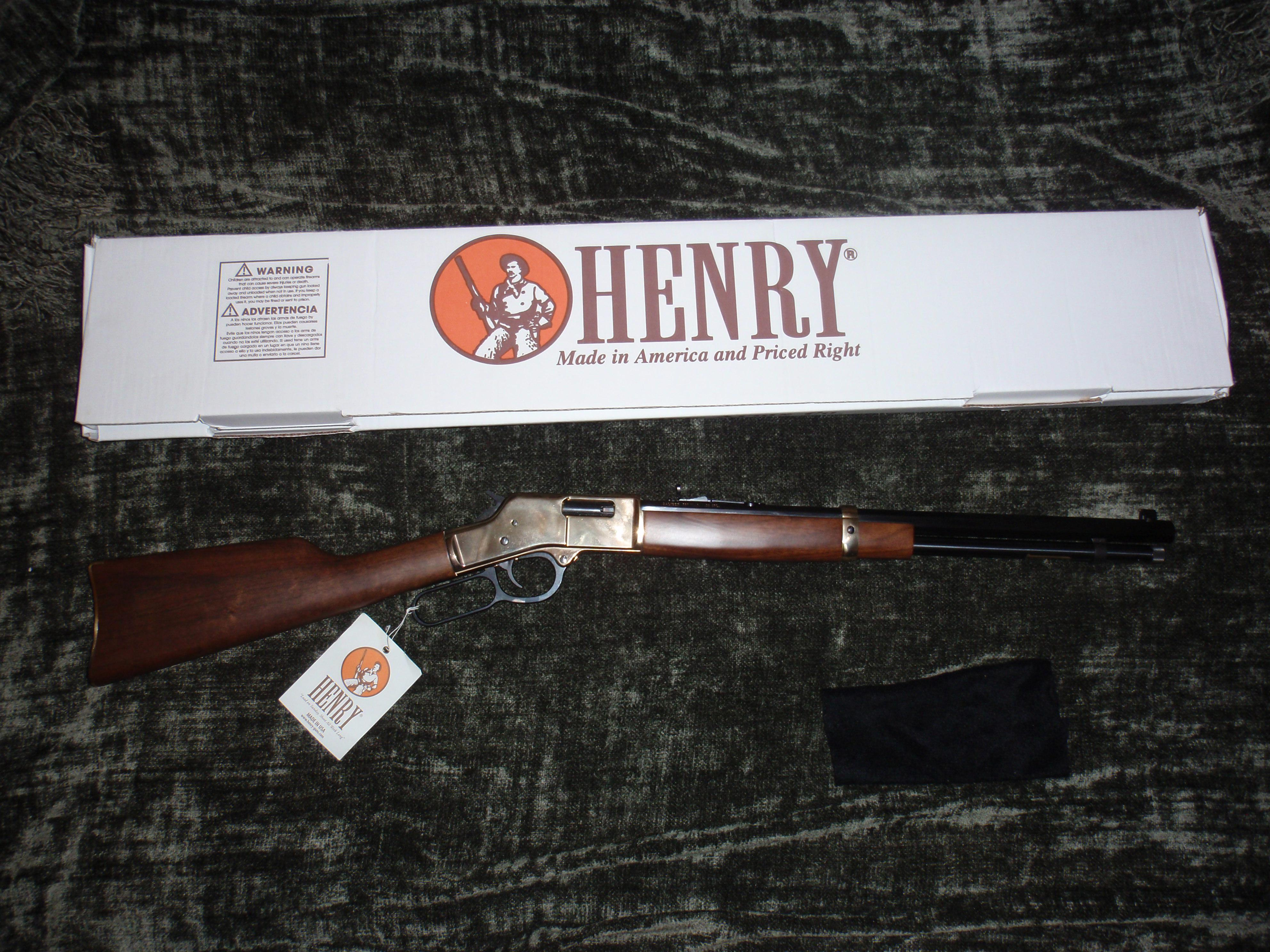 Henry Big Boy Lever Action .357/.38  Guns > Rifles > Henry Rifle Company
