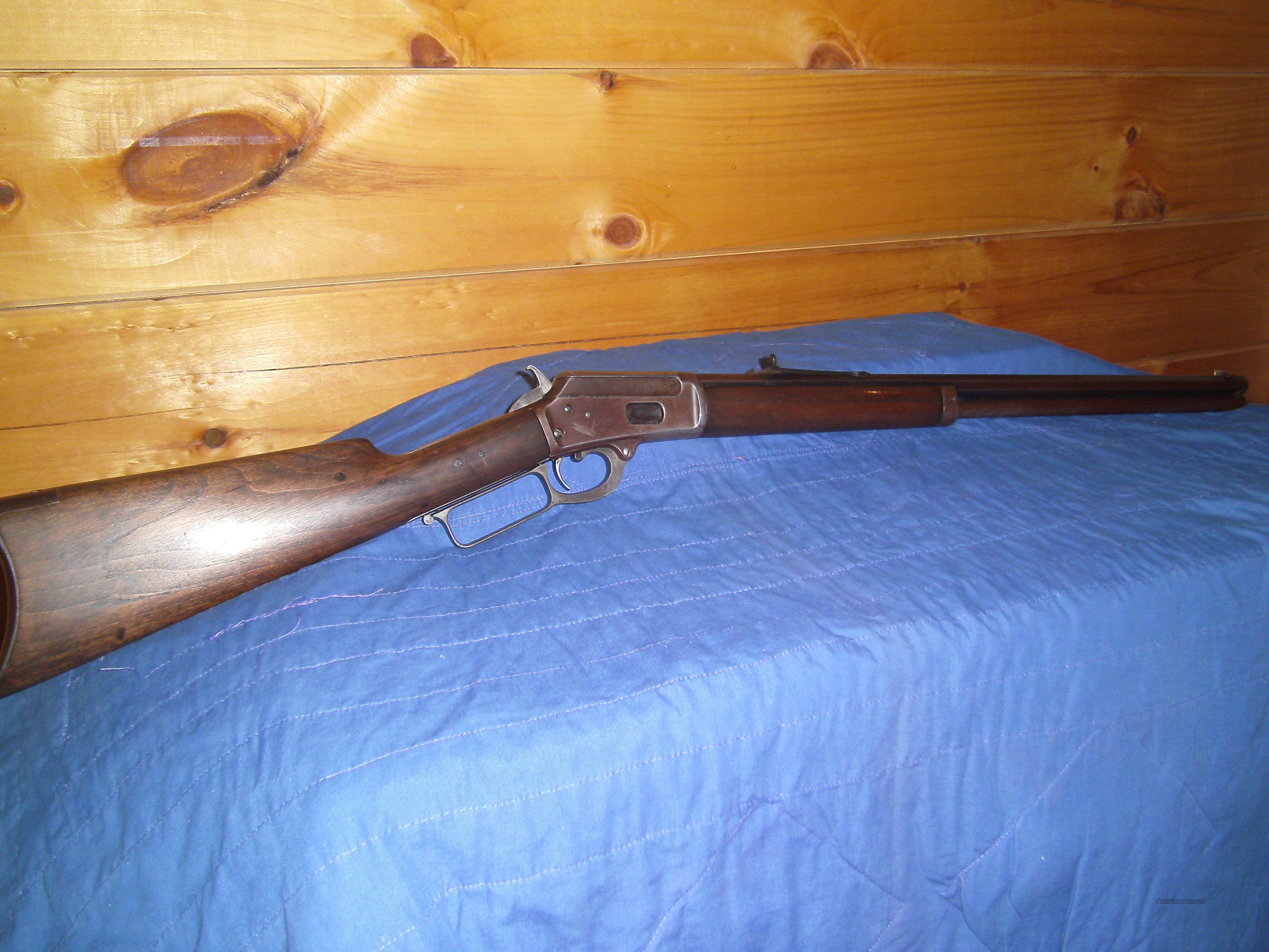 Marlin Model 1889 Rifle  Guns > Rifles > Marlin Rifles > Pre-1899