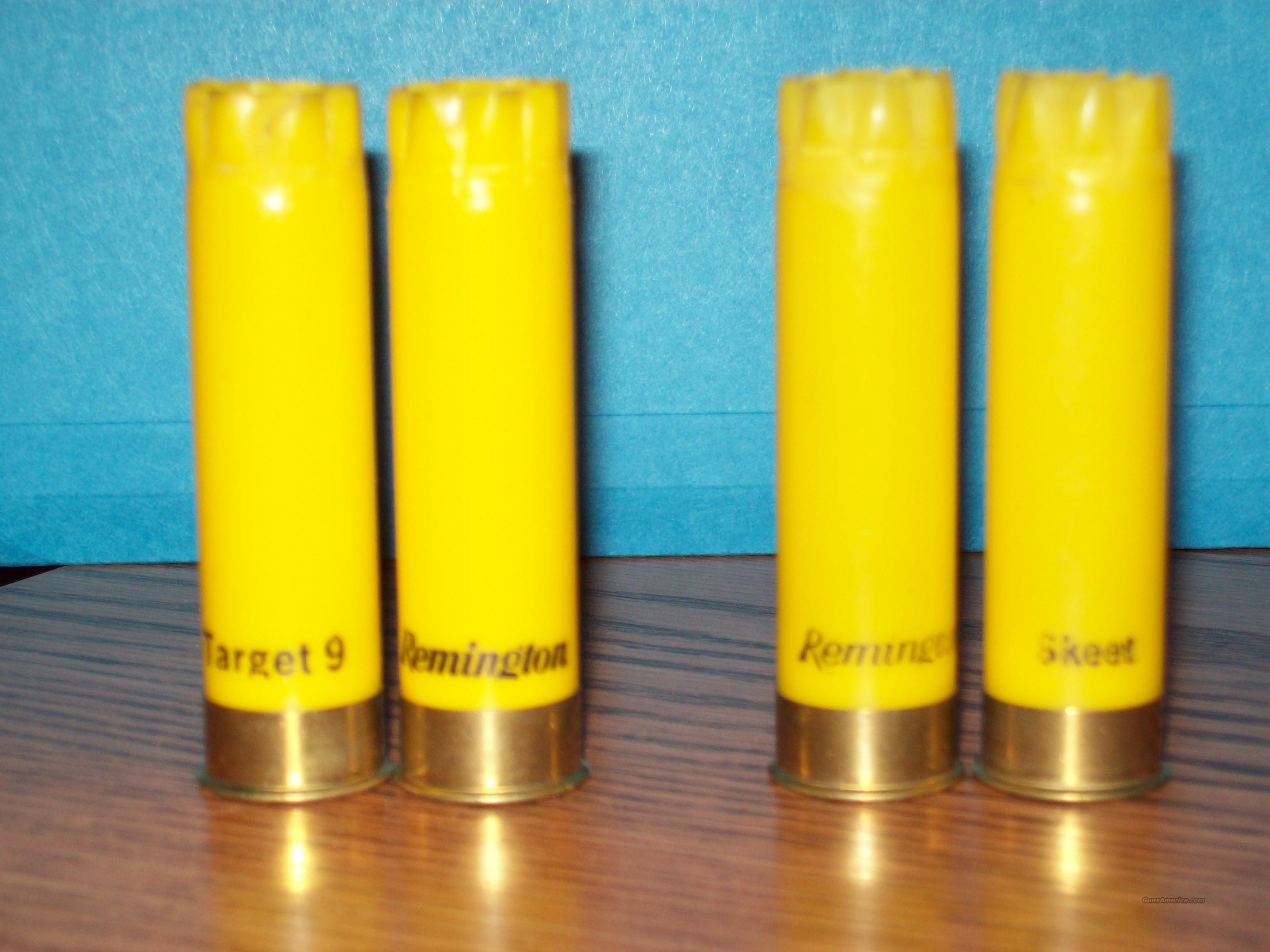 500 Remington 20ga once fired hulls  Non-Guns > Reloading > Components > Shotshell