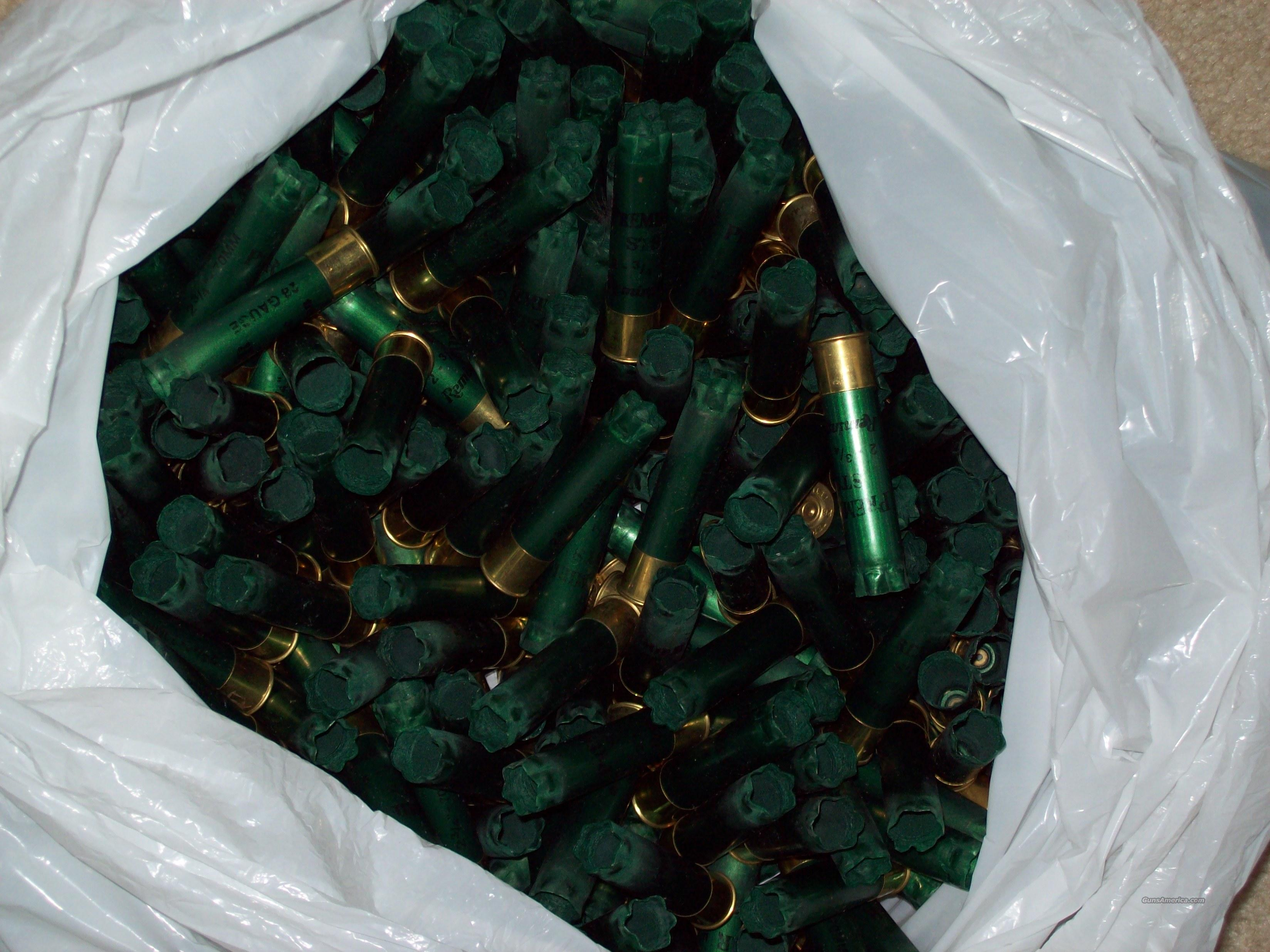 500 Remington 28ga once fired hulls  Non-Guns > Reloading > Components > Shotshell