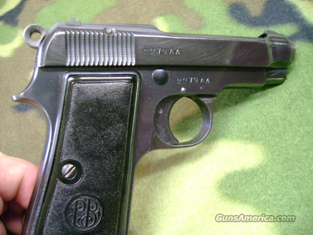 Beretta Model 1934 AA Series Nazi contract *Reduced price*  Guns > Pistols > Beretta Pistols > Rare & Collectible