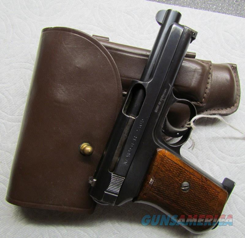 MAUSER 1914 WITH HOLSTER 95%  Guns > Pistols > Mauser Pistols