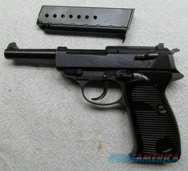 P 38 SPREEWERKE CVQ 100% NO IMPORT MARK COLLECTOR GRADE  Guns > Pistols > Military Misc. Pistols Non-US