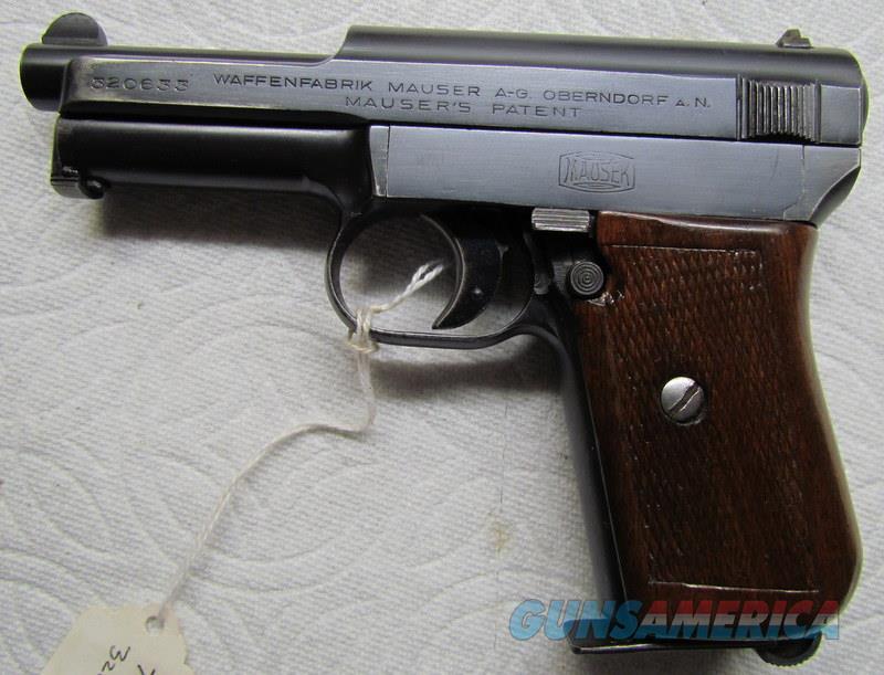 MAUSER 1914  95%  Guns > Pistols > Mauser Pistols