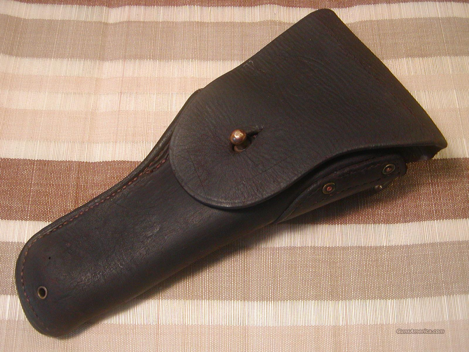1911 Colt 45 USGI Original Leather Holster - Nice !  Non-Guns > Holsters and Gunleather > 1911