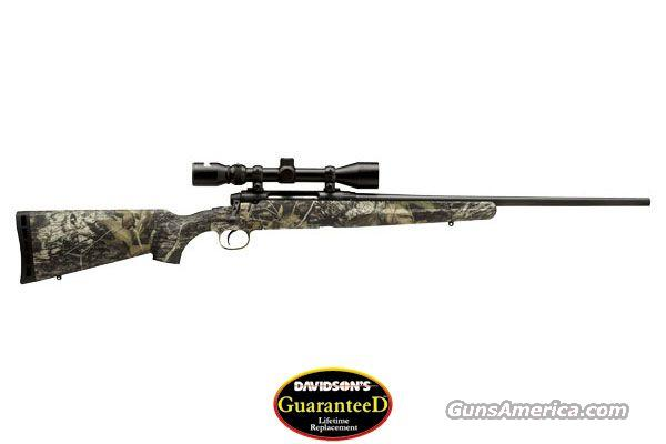 SAVAGE ARMS AXIS XP CAMO 243 WIN 3x9 SCOPE  Guns > Rifles > Savage Rifles > Standard Bolt Action > Sporting