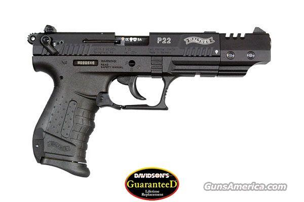 WALTHER P22 TARGET NEW!  Guns > Pistols > Walther Pistols > Post WWII > P22