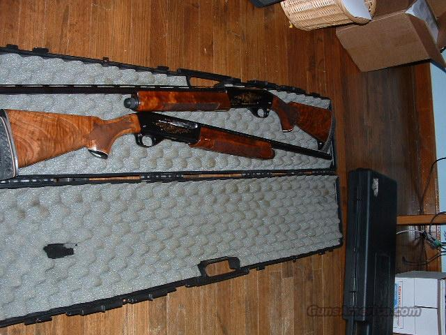 Matched Pair Remington 1100 28 ga/410 bore  Guns > Shotguns > Remington Shotguns  > Autoloaders > Trap/Skeet