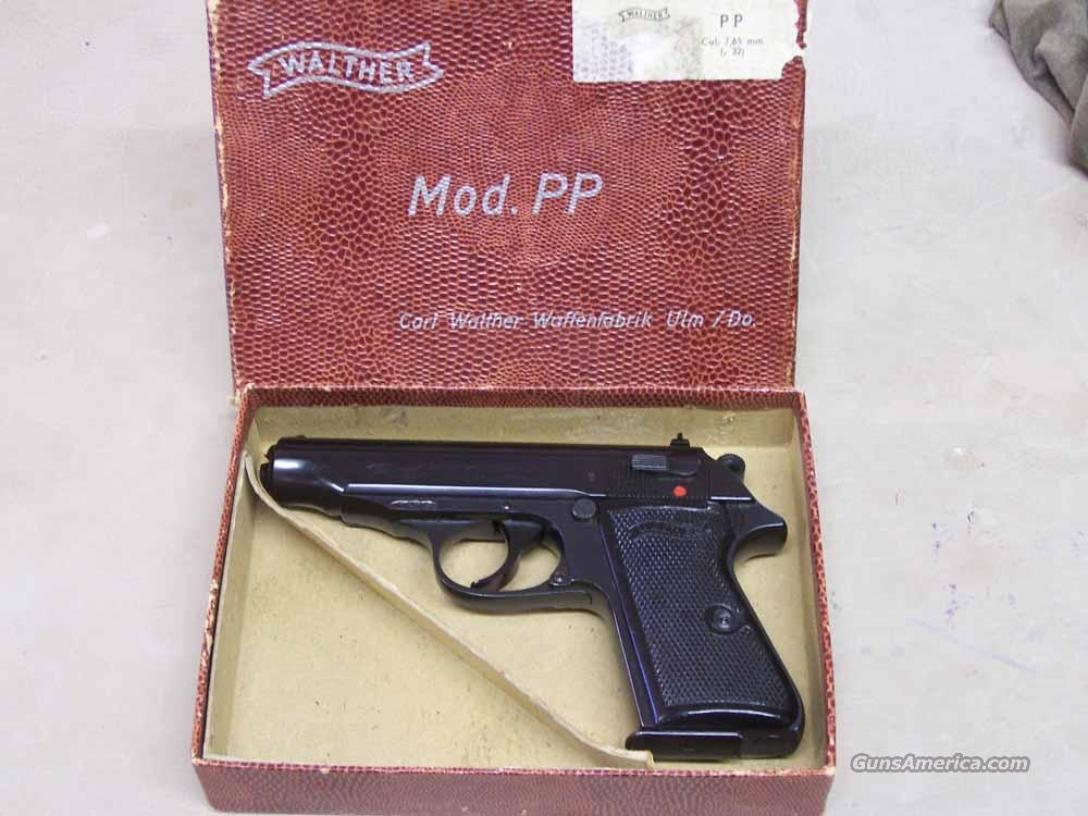 WALTHER PP .32 ACP PISTOL  Guns > Pistols > Walther Pistols > Post WWII > PPK Series