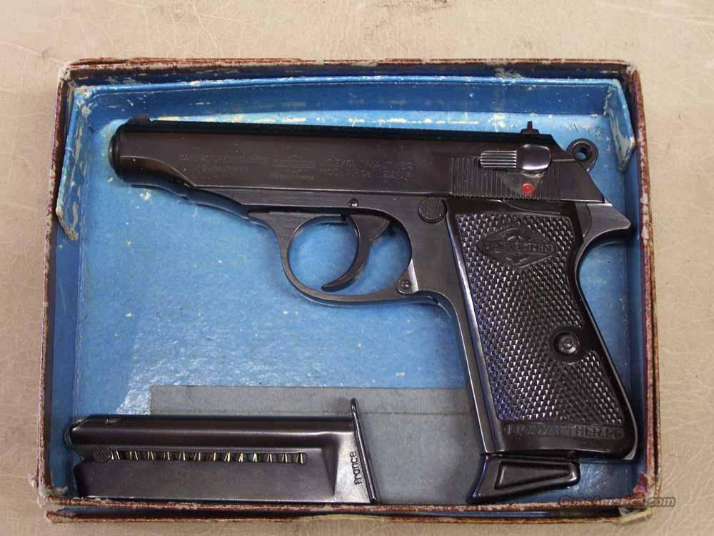 WALTHER PP .22LR BY MANURHIN  Guns > Pistols > Walther Pistols > Post WWII > PP Series