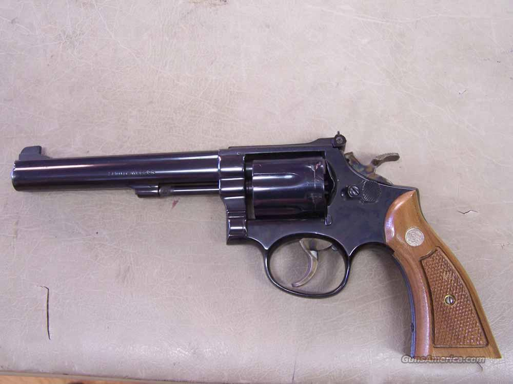 SMITH & WESSON MODEL 14-3  SINGLE ACTION ONLY K38  Guns > Pistols > Smith & Wesson Revolvers > Full Frame Revolver