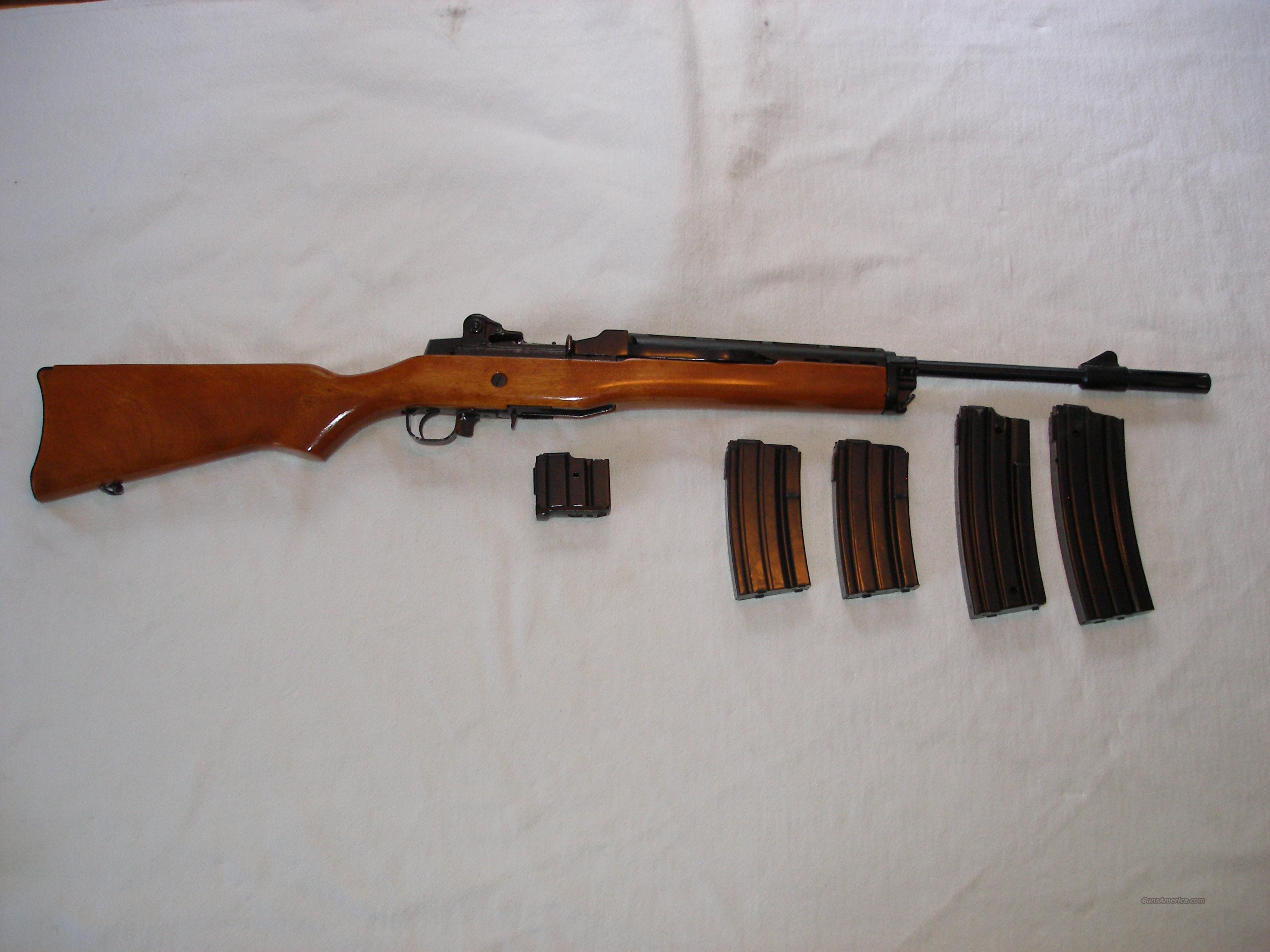 Ruger Mini 14 181 series  Guns > Rifles > Ruger Rifles > Mini-14 Type