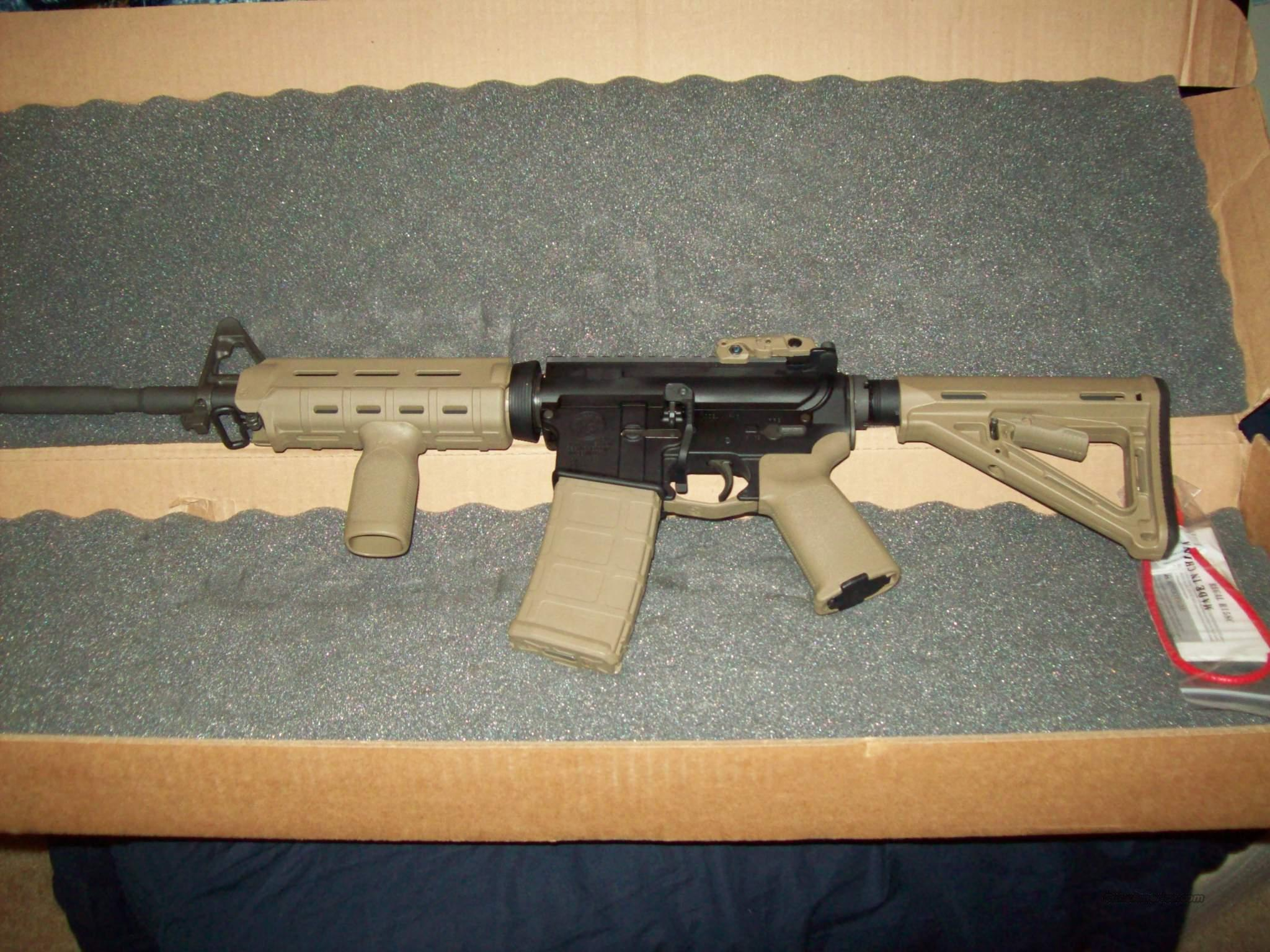 SMITH AND WESSON TAN COLOR M&P15 M&P15 M&P 15 MOE MAGPUL OE  Guns > Rifles > Smith & Wesson Rifles > M&P