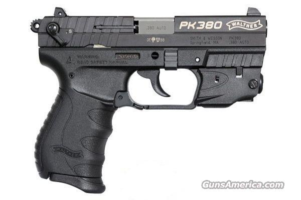 WALTHER PK380 WITH LASER  Guns > Pistols > Walther Pistols > Post WWII > PK380