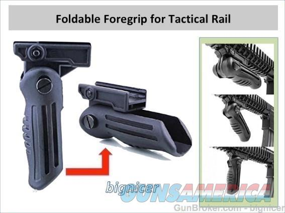 Foldable foregrip for tactical rail  Non-Guns > Gun Parts > M16-AR15 > Upper Only