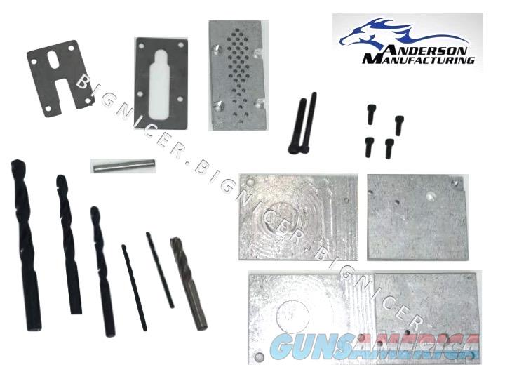 Anderson MFG Gen2 80% Lower Jig kit with DRILL BITS G2-T342-0002  Non-Guns > Gun Parts > M16-AR15 > Upper Only