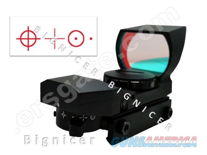 Tactical 4 Reticle Red Dot Open Reflex Sight RED  Non-Guns > Gun Parts > M16-AR15 > Upper Only