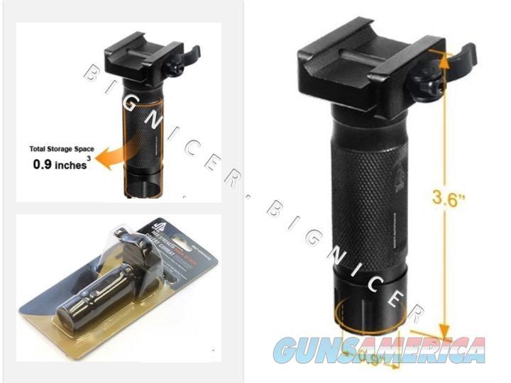 UTG 3.6 Covert Op QD Lever Mount Metal Foregrip  Non-Guns > Gun Safes