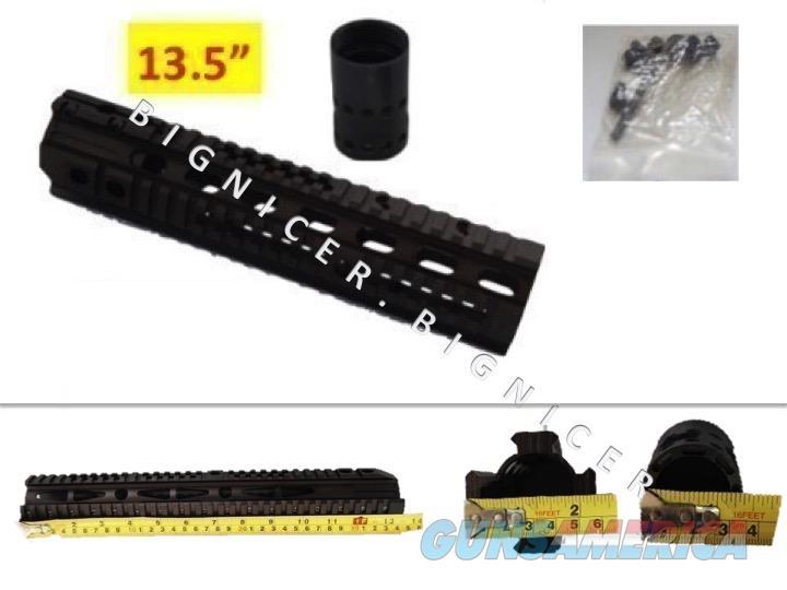 "13.5"" Slim Free Float Quad Rail Handguard  Non-Guns > Gun Parts > M16-AR15 > Upper Only"