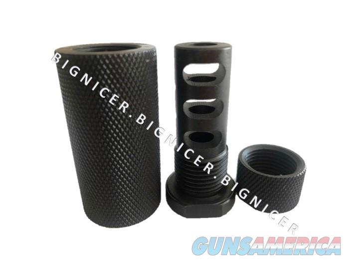Kineti-Tech Style Sound Redirecting Muzzle Brake for AR15 ½ x 28  Non-Guns > Gun Parts > M16-AR15 > Upper Only