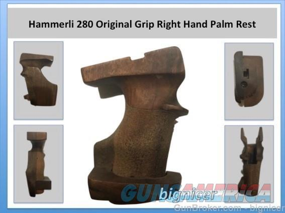 Hammerli 280 Original Grip Right Hand Palm Rest  Non-Guns > Gunstocks, Grips & Wood