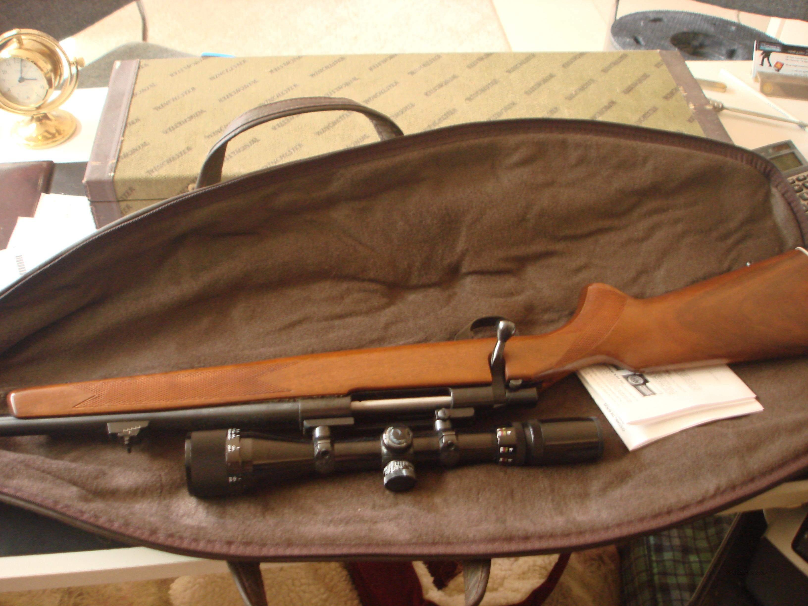 S&W Model 1500 with 4x12.40 Bushnell scope  Guns > Rifles > Smith & Wesson Rifles > I-Bolt