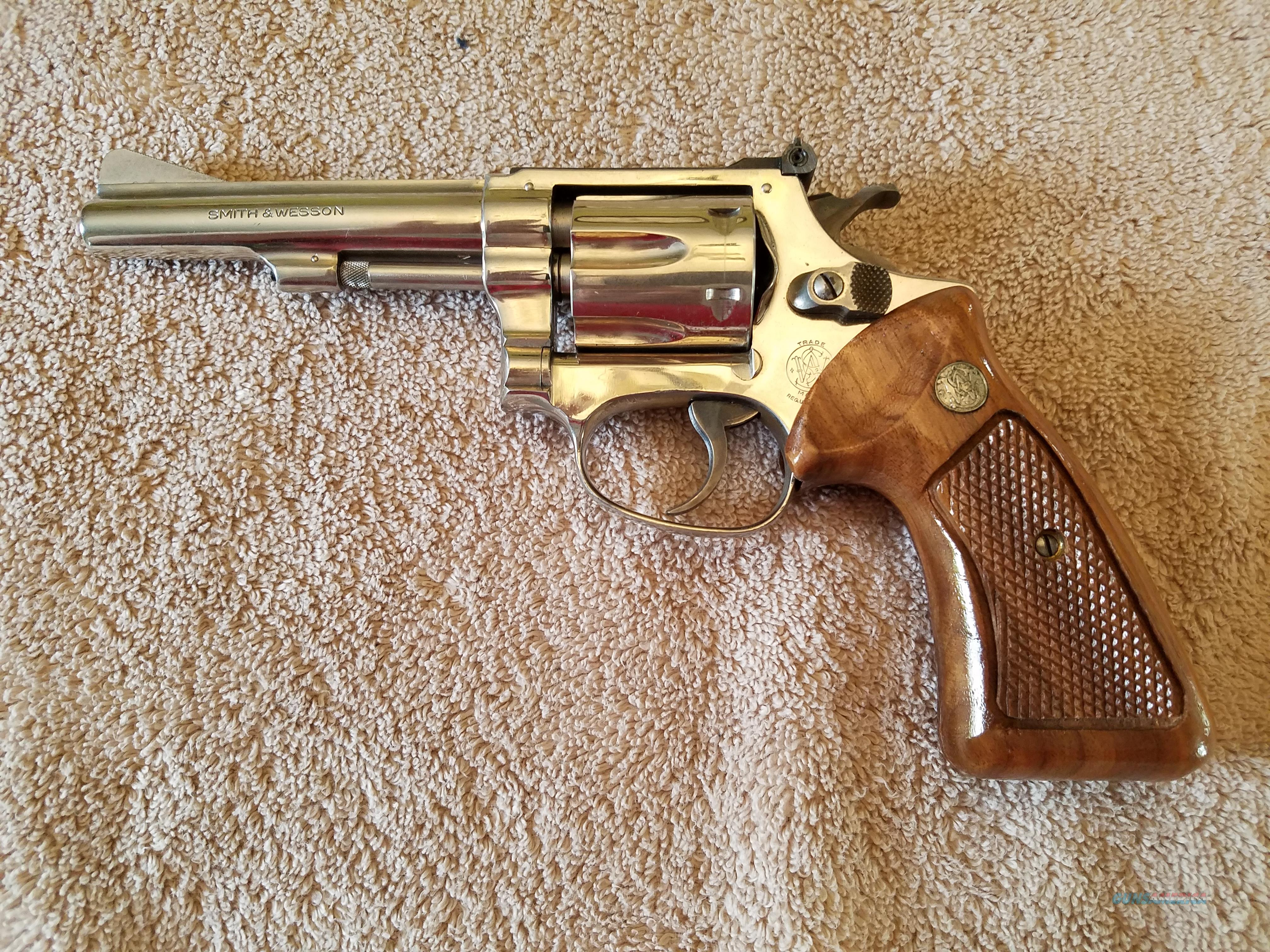 Smith & Wesson revolver model 34-1, 22 Long Rifle  Guns > Pistols > Smith & Wesson Revolvers > Full Frame Revolver