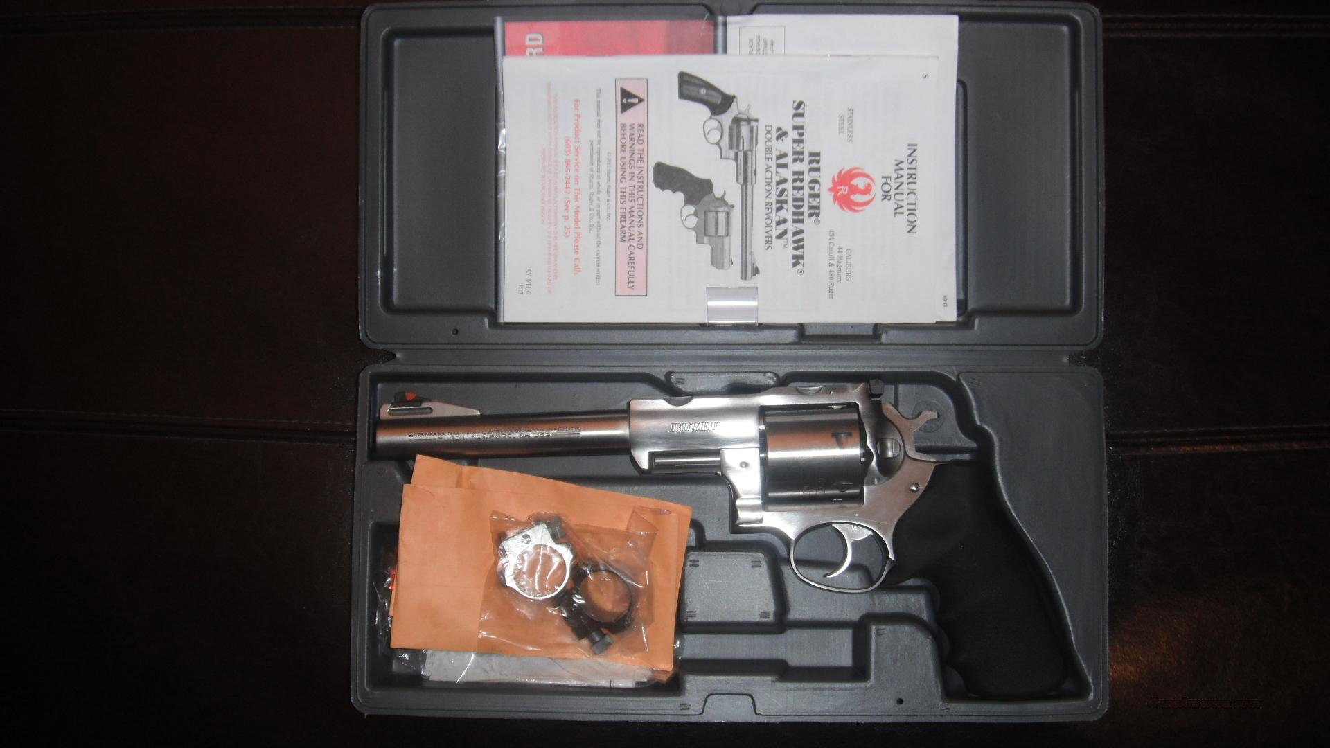 "Ruger Super Redhawk 454 CASULL 7""  Guns > Pistols > Ruger Double Action Revolver > Redhawk Type"