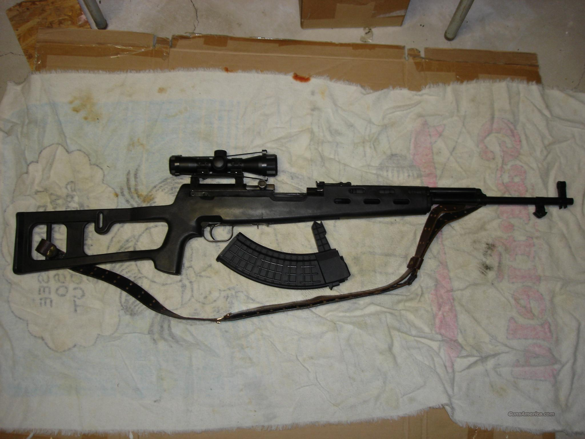 SKS high cap 30rd,  polymer stock, scope  Guns > Rifles > SKS Rifles