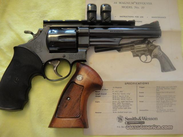 "Smith Wesson Model 29 ""Dirty Harry Gun""  Guns > Pistols > Smith & Wesson Revolvers > Full Frame Revolver"