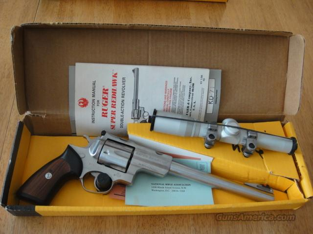 Ruger Super Redhawk with Burris 2X Scope  Guns > Pistols > Ruger Double Action Revolver > Redhawk Type