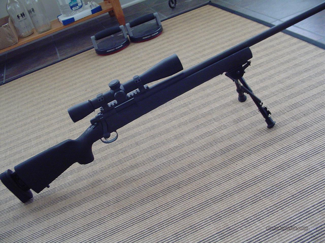 Remington M-24 M700 Sniper Rifle Leupold M3 MK4   Guns > Rifles > Tactical/Sniper Rifles
