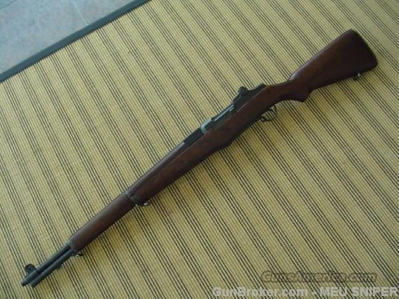 Springfield Armory M1D Garand sniper rifle ME-1  Guns > Rifles > Springfield Armory Rifles > M1 Garand