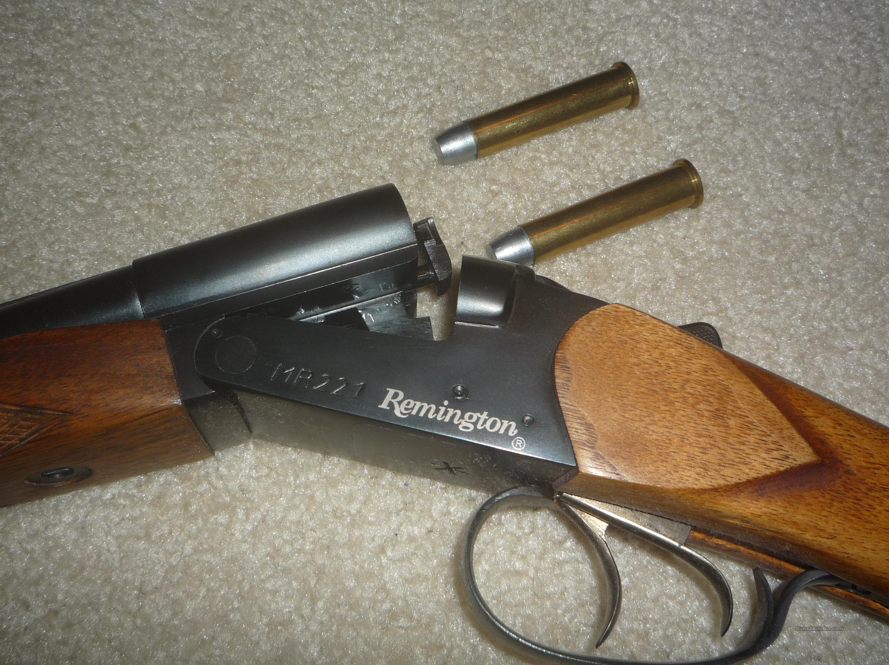 Remington Double Rifle 45/70  Guns > Rifles > Remington Rifles - Modern > Double Rifles