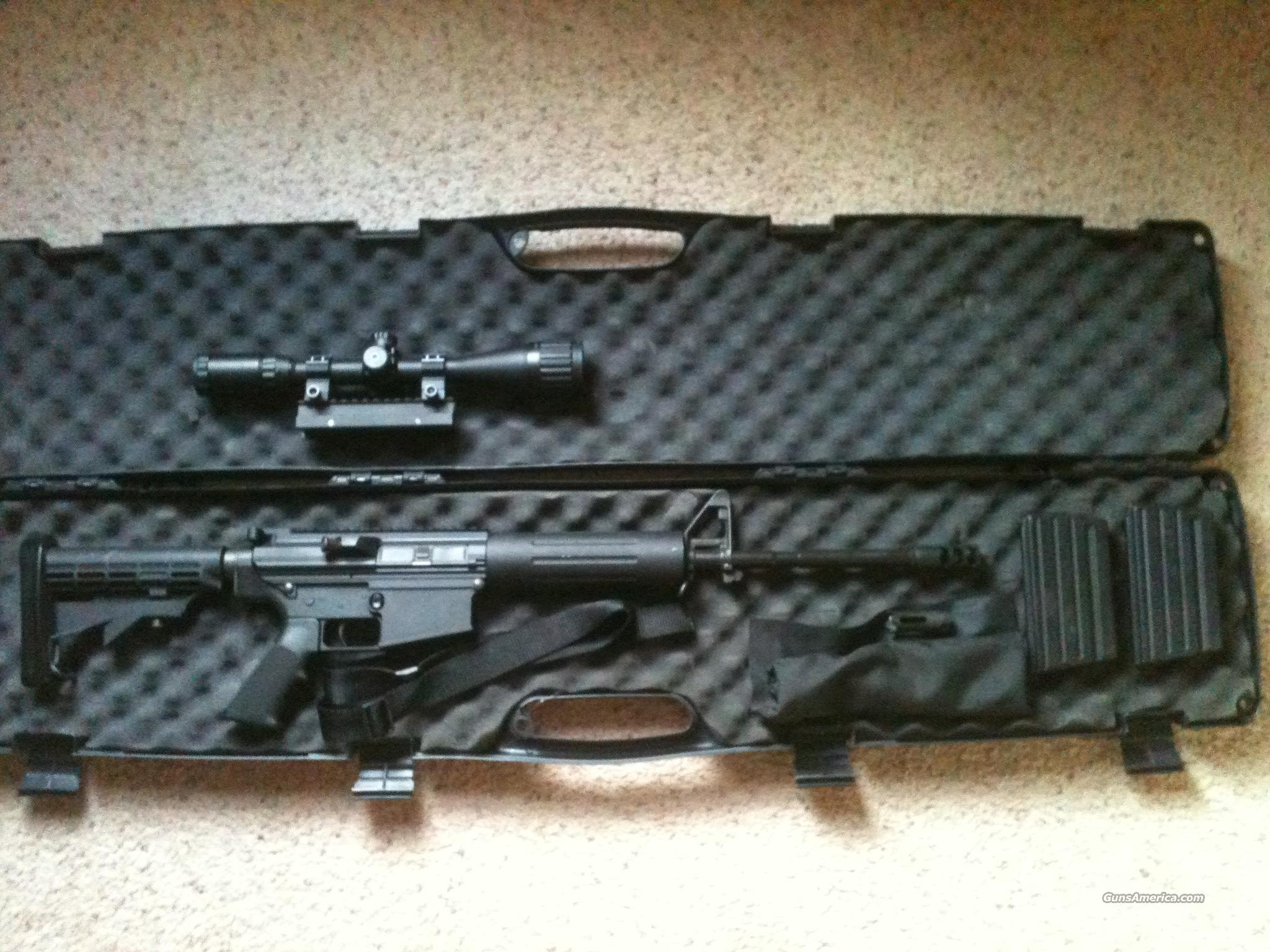 Like New DPMS LR308 AP4 .308 AR Carbine  Guns > Rifles > AR-15 Rifles - Small Manufacturers > Complete Rifle