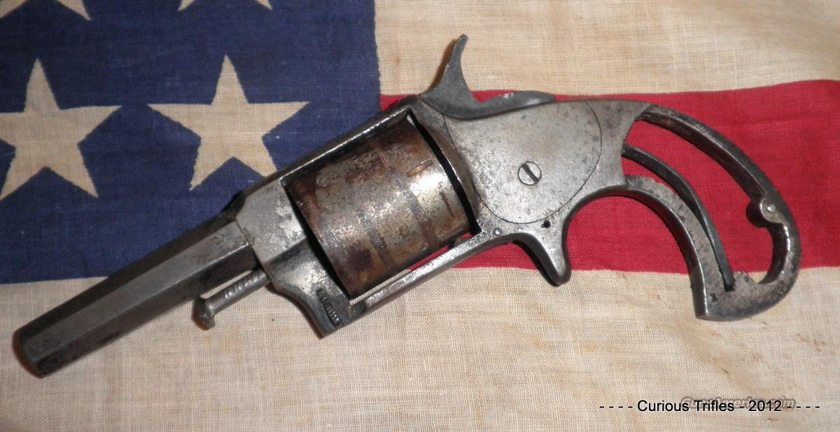 US Arms Co - No. 32 - .32 Rimfire Revolver  Guns > Pistols > Antique (Pre-1899) Pistols - Ctg. Misc.