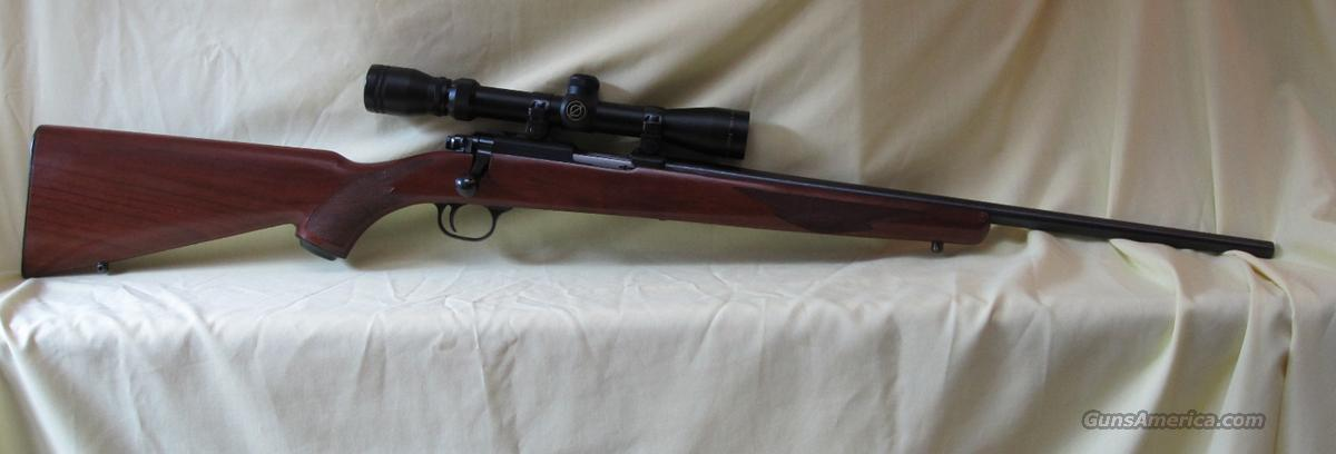 Ruger M77/22 L.R. with Simmons 3-9x Scope  Guns > Rifles > Ruger Rifles > Model 77