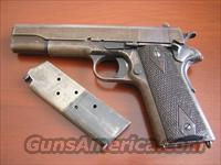 WWI WW1 US Army 1911 Colt .45 ACP Made In 1918  Guns > Pistols > Colt Automatic Pistols (1911 & Var)