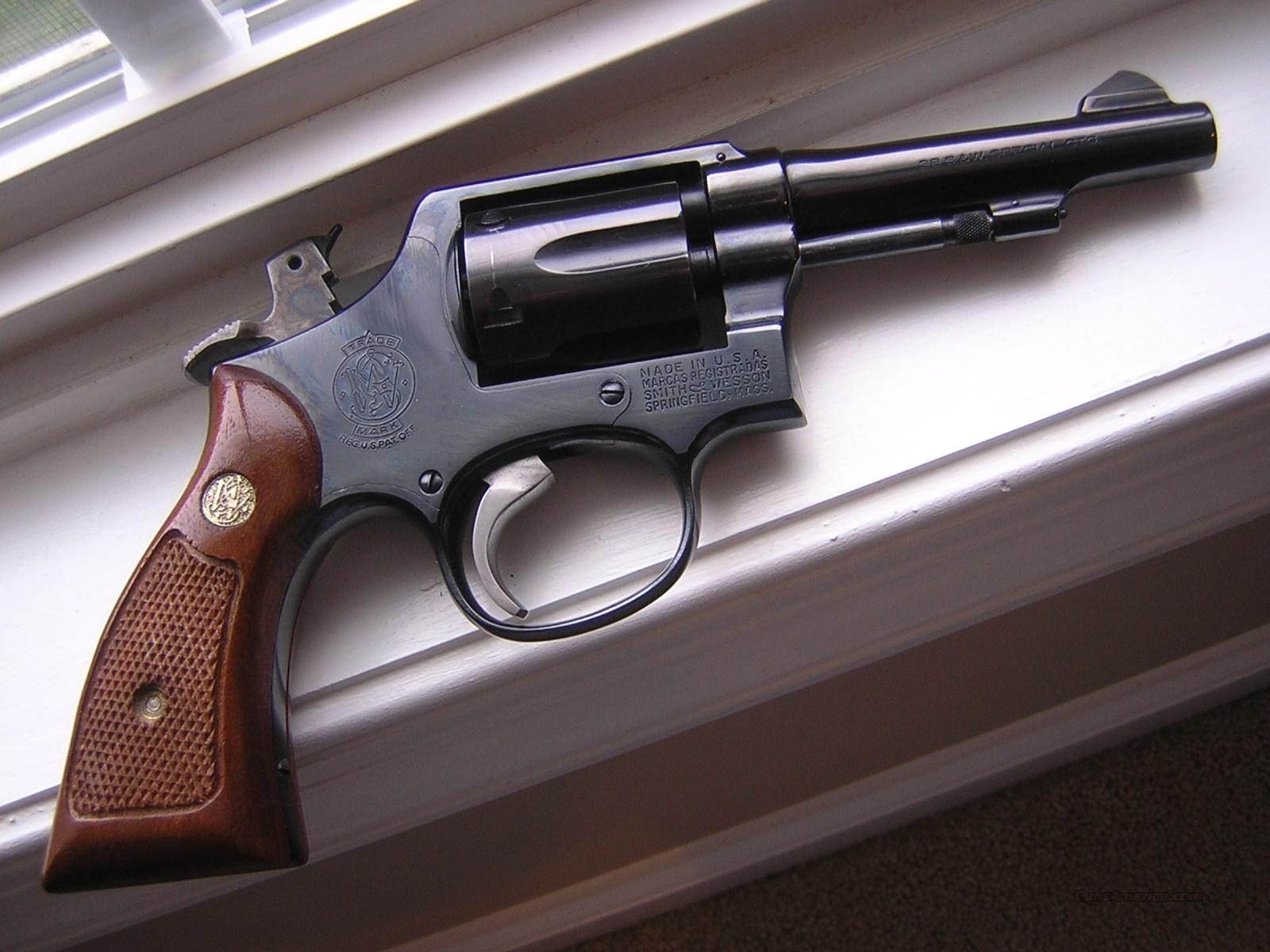 S&W Smith & Wesson Model 10 10-5 In 38 Special  Guns > Pistols > Smith & Wesson Revolvers > Model 10