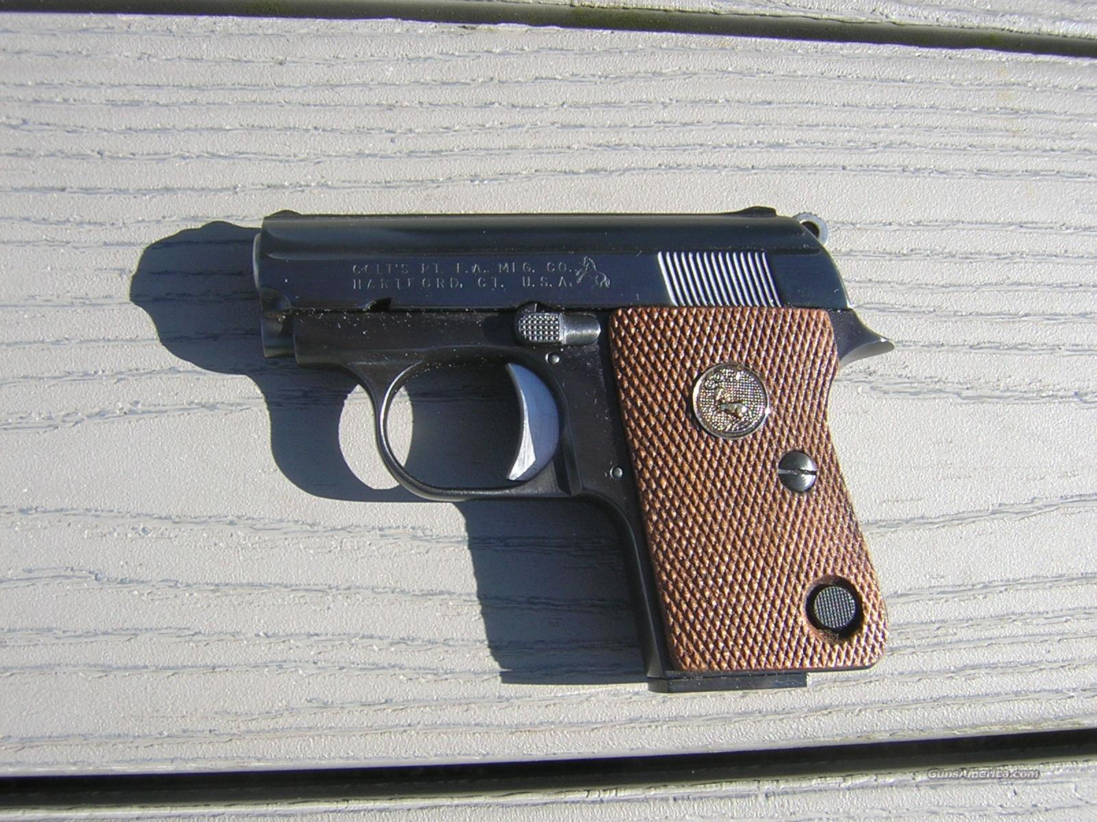 USA Colt Junior In Unused Condition .25 ACP  Guns > Pistols > Colt Automatic Pistols (.25, .32, & .380 cal)