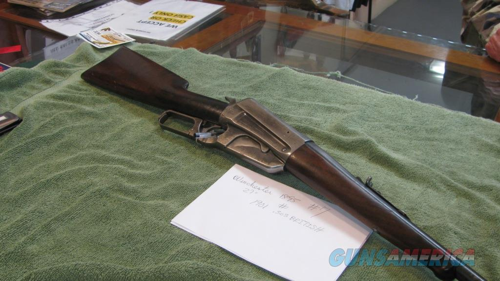 Winchester 1895 .303 British   Guns > Rifles > Winchester Rifles - Modern Lever > Other Lever > Pre-64