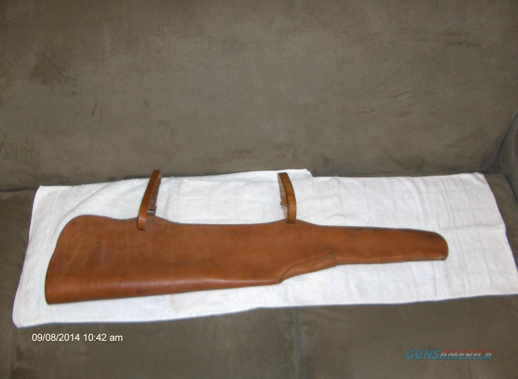 Near New Scoped Saddle Scabbard for Carbine Only $75.00  Non-Guns > Gun Cases