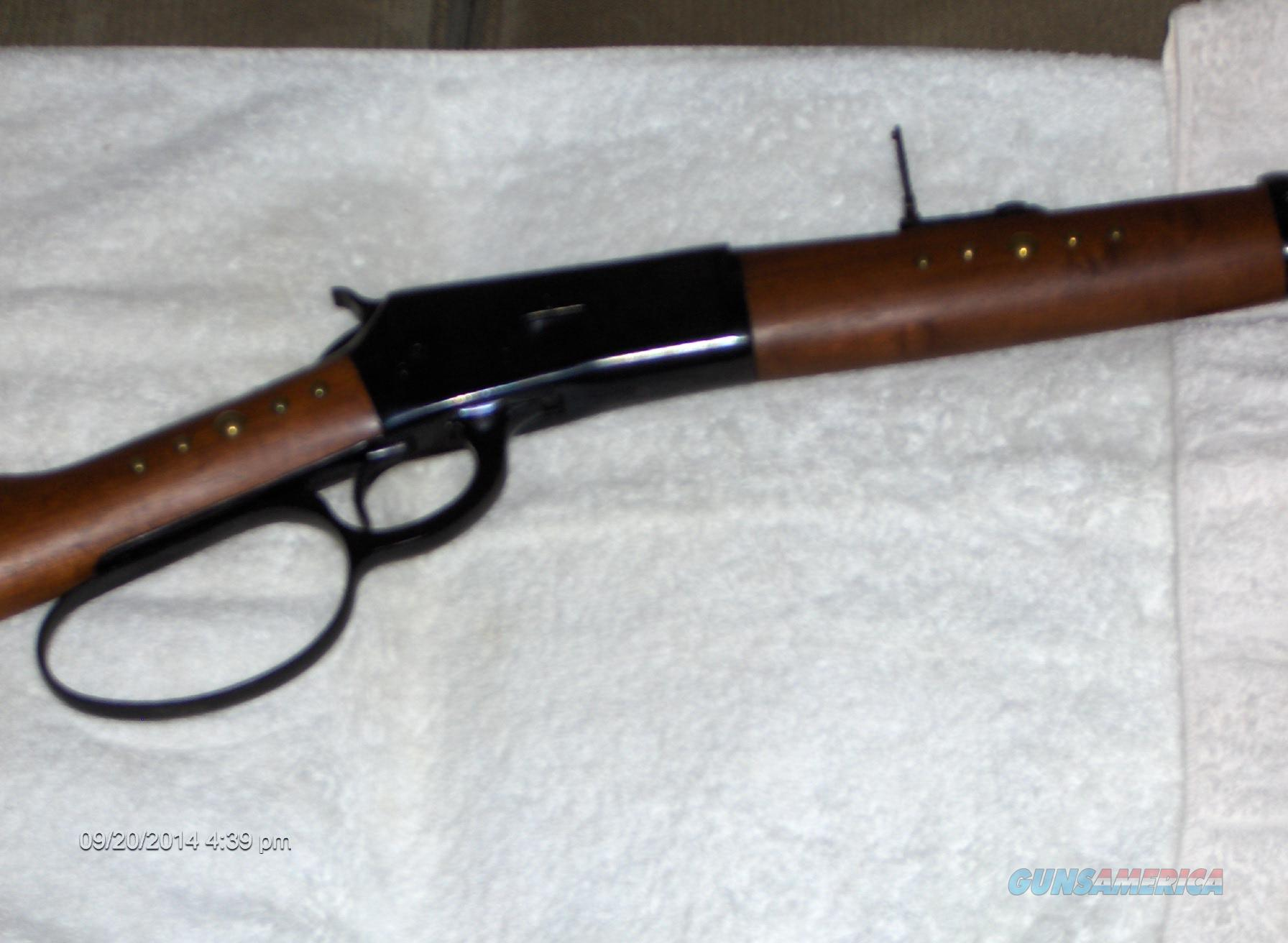 "Puma 92 , 16"" bbl., unfired, action job, large loop lever, laddar sight, only $1000  Guns > Rifles > Rossi Rifles > Cowboy"