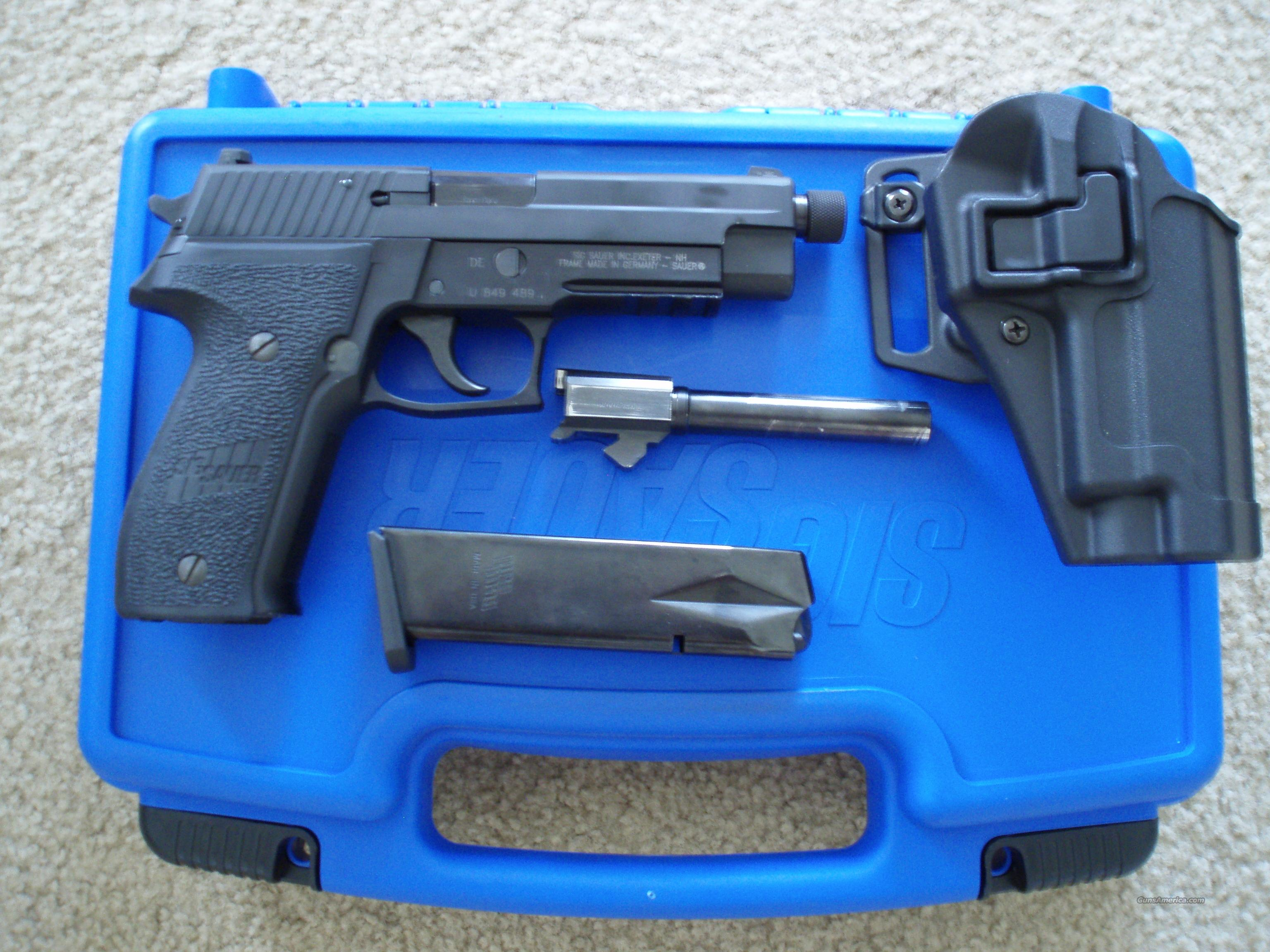 Sig 226 9mm night sights threaded barrel  Guns > Pistols > Sig - Sauer/Sigarms Pistols > P226