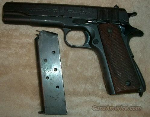 early production 1927  Guns > Pistols > Colt Automatic Pistols (1911 & Var)