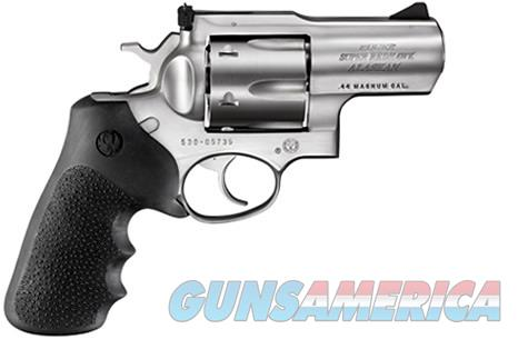 Ruger 5303 Super Redhawk Alaskan Revolver .44 Mag 2.5in 6rd Stainless  Guns > Pistols > Ruger Double Action Revolver > Redhawk Type